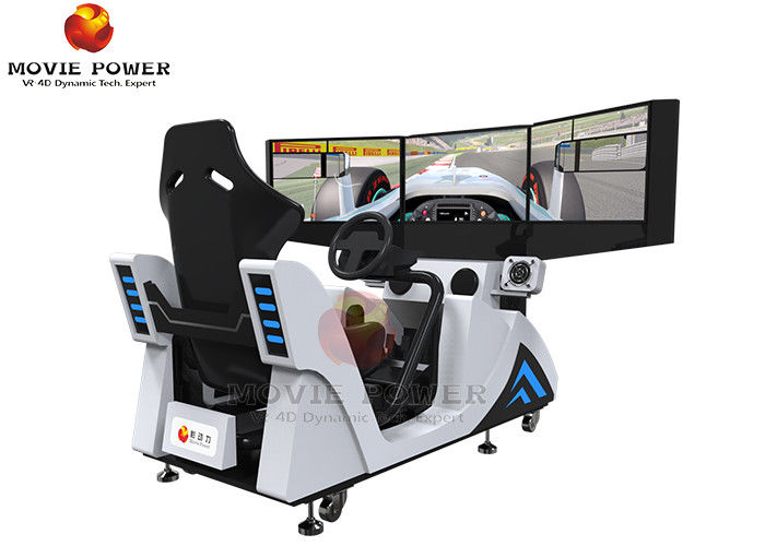 Stable 9D Simulator Racing Simulator Cockpit With 3d Of Electric System