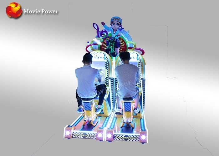 Indoor Playground Bike Racing Simulator For Children In Department Store