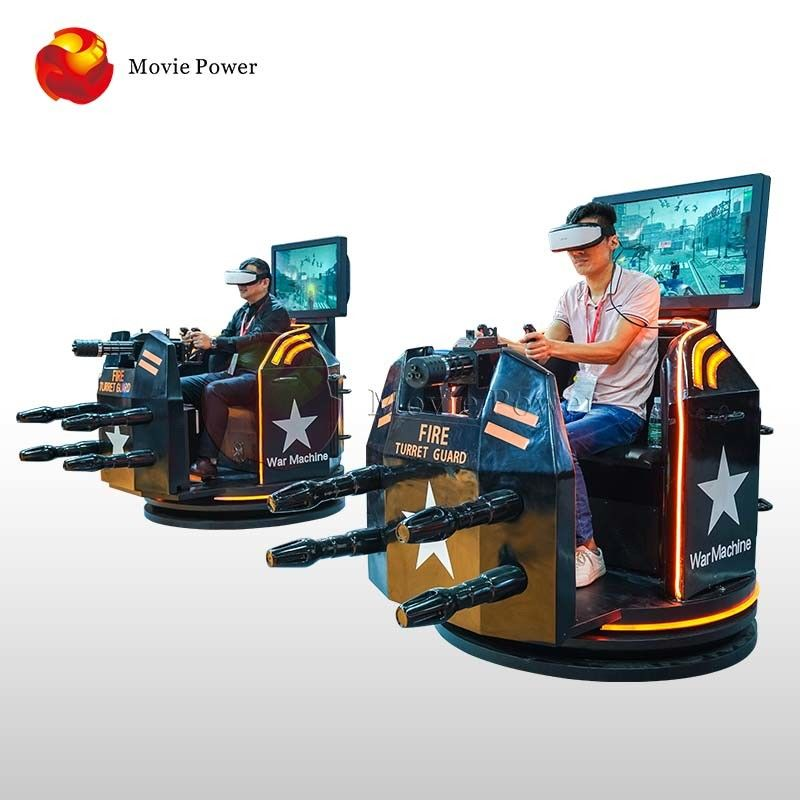 Electric System 9D VR Shooting Game Machine War Battle Max Load 150kg