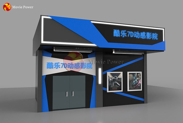 Dynamic System Attraction Cinema Equipment Home 7D Movie Theater