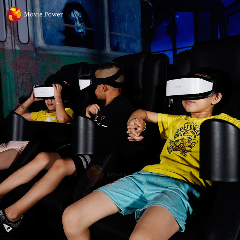 Electric 1/3 Seats 9d VR Cinema Simulator SingleTriple Interactive Virtual Reality 9d